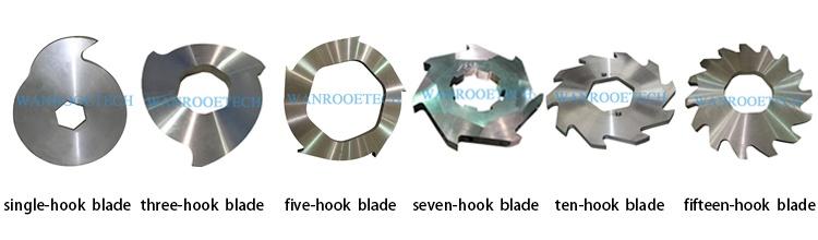 Plastic Metal Tire Double Shaft Shredder Blades