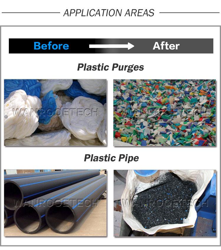 HDPE Pipe Shredder,PVC Pipe Shredder, HDPE Pipe PVC Pipe Crusher Granultor, Plastic Pipe Shredder Crusher Granulator